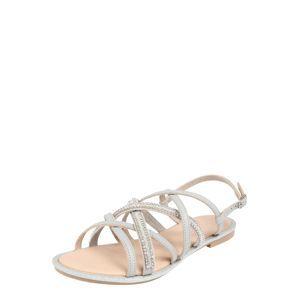 ESPRIT Páskové sandály 'Nazli Multi Ban'  světle šedá