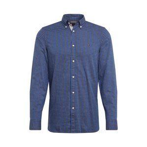TOMMY HILFIGER Košile  šedá / modrá