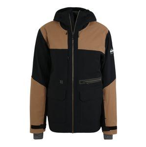 QUIKSILVER Outdoorová bunda 'ARROW WOOD JK M SNJT'  růžová / černá