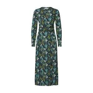 EDITED Košilové šaty 'Nadja'  modrá / žlutá / fialová