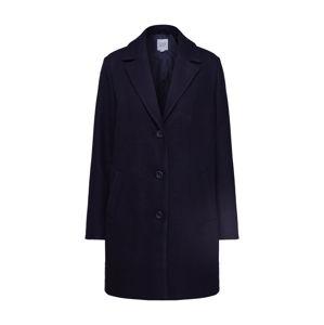 GAP Přechodný kabát 'V-LONG TOP COAT'  černá
