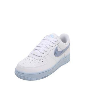 NIKE Tenisky 'Air Force 1´07'  stříbrná / bílá