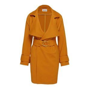 EDITED Přechodný kabát 'Hedda'  hnědá