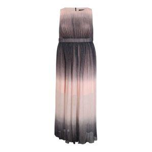 SWING Curve Koktejlové šaty  růžová / azurová