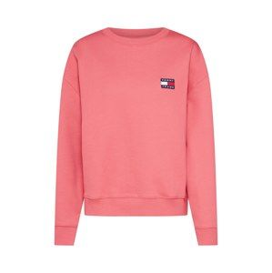 Tommy Jeans Mikina 'TOMMY BADGE CREW'  pink