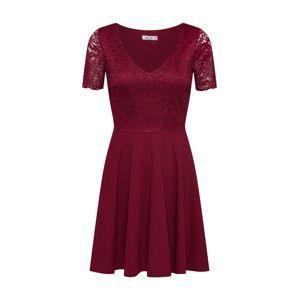 WAL G. Koktejlové šaty 'WG 8726'  bordó