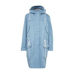 BOSS Přechodný kabát 'Obony'  aqua modrá / bílá