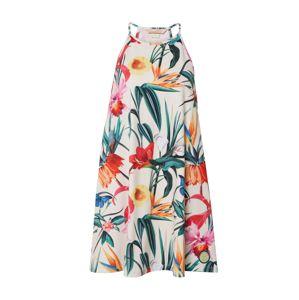 Femi Stories Letní šaty 'BOBI'  červená / mix barev / krémová