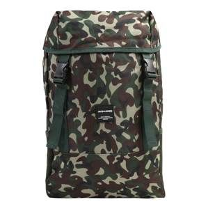 JACK & JONES Batoh 'JACLUKE BACKPACK'  olivová