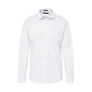 Banana Republic Košile 'TECH CLUSTER DOT PRINT SPREAD COLLAR'  bílá