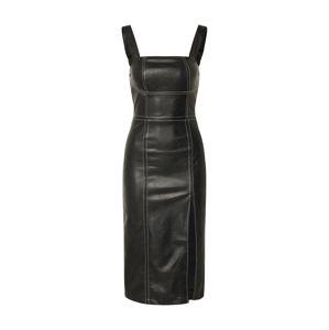 4th & Reckless Koktejlové šaty 'MARCELLA'  černá