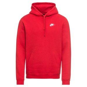 Nike Sportswear Mikina 'PO FLC CLUB'  červená