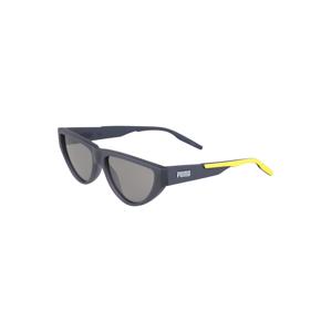 PUMA Sluneční brýle  šedá / žlutá