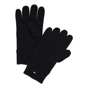 TOMMY HILFIGER Prstové rukavice 'PIMA'  antracitová