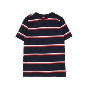 S.Oliver Junior Tričko  námořnická modř / světle červená