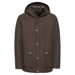Barbour International Zimní bunda 'Ridge Jacket'  olivová