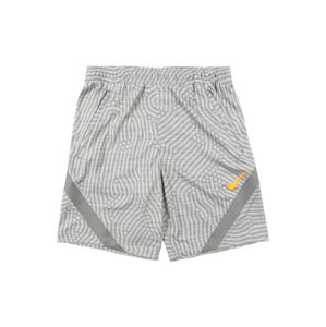 NIKE Sportovní kalhoty 'Strike'  šedá / světle šedá / oranžová