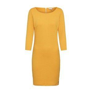 TOM TAILOR DENIM Šaty  zlatě žlutá