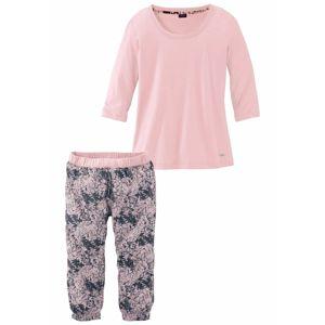 BUFFALO Pyžamo  růžová / čedičová šedá