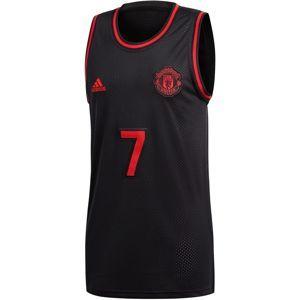 ADIDAS PERFORMANCE Funkční tričko 'Manchester United'  červená / černá