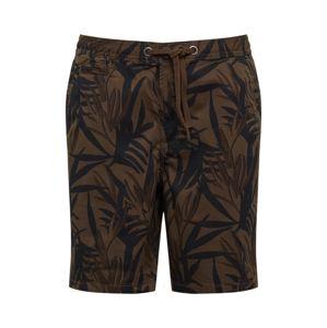 Superdry Chino kalhoty 'SUNSCORCHED CHINO '  olivová / černá