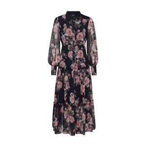 Bardot Šaty 'NAVY FLORAL'  růžová / námořnická modř