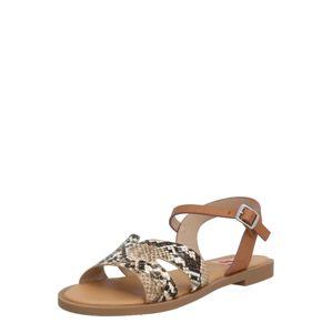MTNG Páskové sandály 'PALMIRA'  světle hnědá
