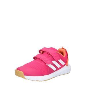 ADIDAS PERFORMANCE Sportovní boty 'FortaGym'  oranžová / fuchsiová / bílá