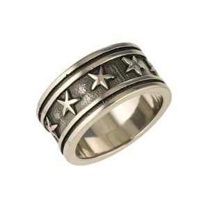 ROYAL-EGO Prsten  černá / stříbrná
