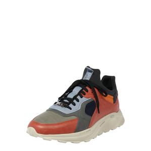 EKN Footwear Tenisky 'LARCH'  hnědá / koňaková / černá / režná / opálová