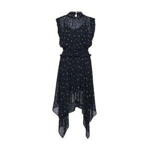 The Kooples Koktejlové šaty  černá / bílá
