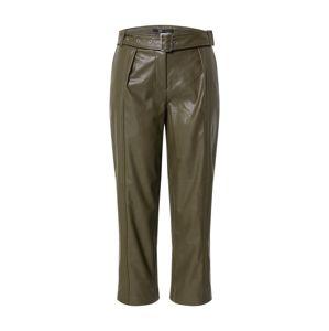 ONLY Kalhoty se sklady v pase 'ONLSTAN'  olivová