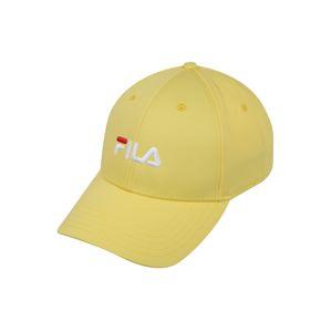 FILA Kšiltovka '6 panel cap leniar logo / strap back'  žlutá
