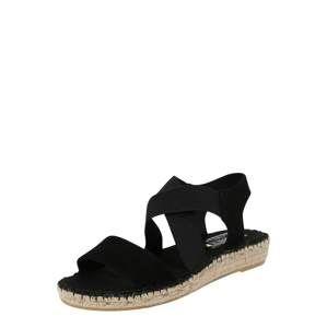 Vidorreta Páskové sandály  schwarz