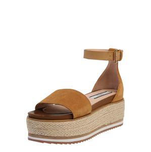 Pepe Jeans Páskové sandály 'Wick Premium'  hnědá