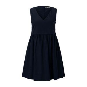 TOM TAILOR DENIM Letní šaty  noční modrá