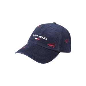 Tommy Jeans Kšiltovka  červená / tmavě modrá