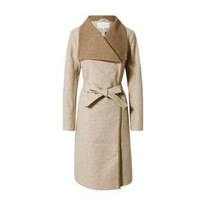 VILA Přechodný kabát 'Bias'  hnědá / béžová