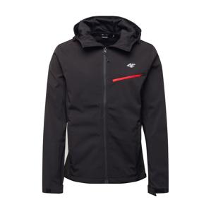 4F Sportovní bunda 'MEN'S SOFTSHELL'  černá