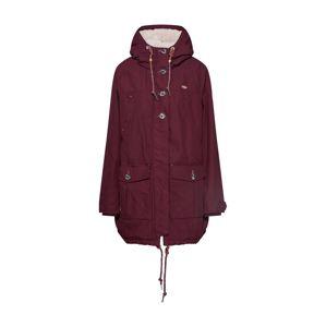 Ragwear Plus Zimní bunda 'JANE PLUS'  vínově červená