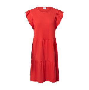 VILA Letní šaty 'SUMMER'  červená