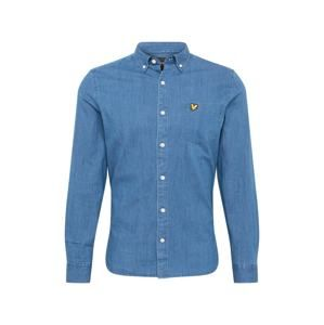 Lyle & Scott Košile 'Slim Fit Denim Shirt'  světlemodrá