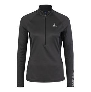 ODLO Funkční tričko 'ZEROWEIGHT '  čedičová šedá / černá