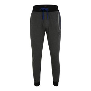 BOSS Kalhoty 'Authentic'  tmavě šedá / černá / bílá
