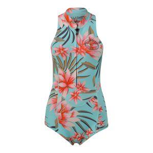 BILLABONG Neoprenový oblek 'salty dayz'  khaki / světlemodrá / růžová