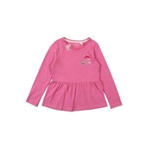 Sanetta Kidswear Tričko  malinová