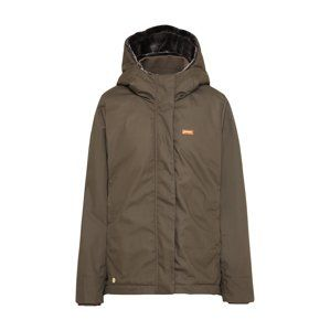 Mazine Zimní bunda 'Kimberley'  dunkelgrau / khaki / dunkelgrün