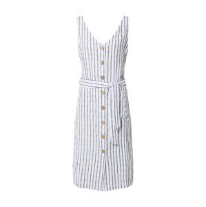 ZABAIONE Letní šaty 'Sara'  tmavě modrá / bílá