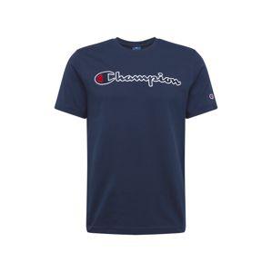 Champion Authentic Athletic Apparel Tričko  námořnická modř / bílá / světle červená
