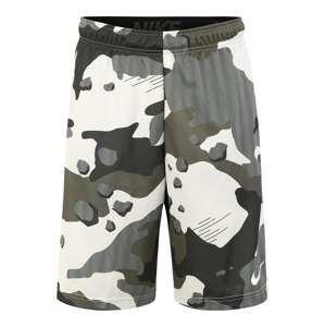 NIKE Sportovní kalhoty  barvy bláta / khaki
